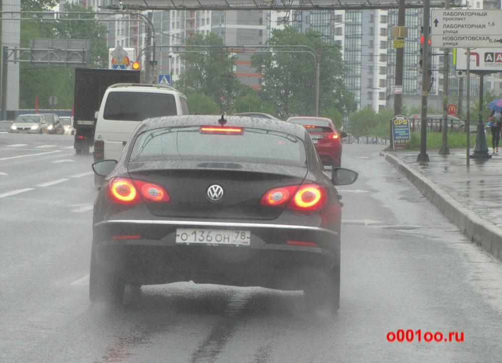 о136он78
